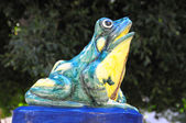 Frog fountain — Stock Photo