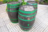 Decorative Old Wooden Barrel — Foto de Stock