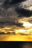 Clouds over the Atlantic Ocean — Stock Photo