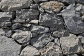 Gray Rock Ancient Wall — Stock Photo