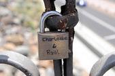 Lover's Lock — Stock Photo