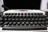 Cestování ročník psací stroj — Stock fotografie