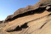 Ancient Volcanic Rocks — Stock Photo