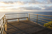 Sunrise Pier — Stock Photo