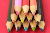 New Colored Pencils Textured — Stock Photo
