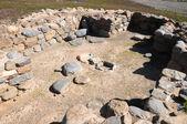 Archeologie site in canarische eilanden — Stockfoto