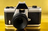 Classic 35mm Plastic Toy Photo Camera — Zdjęcie stockowe