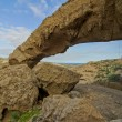 Natural Arch in Desert — Stock Photo #40848715