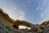 Natural Arch in the Desert — Stock Photo