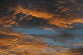 Clouds over the Atlantic Ocean — Fotografia Stock