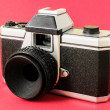 Classic 35mm Plastic Toy Photo Camera — Stock Photo #41072447