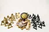 Plastic Lead Soldiers — Stock Photo