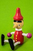 Pinocchio Toy Statue — Stok fotoğraf