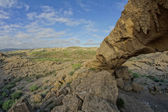 Natural Arch in the Desert — 图库照片