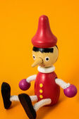 Pinocchio Toy Statue — Stock Photo