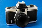 Klasyczny 35mm aparat fotograficzny zabawki z tworzyw sztucznych — Zdjęcie stockowe
