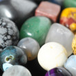 Colored Semi Precious Stones — Stock Photo #42302499
