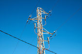 Electricity Power Pylon — ストック写真