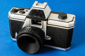 Classic 35mm Plastic Toy Photo Camera — ストック写真