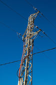 Electricity Power Pylon — Stock Photo