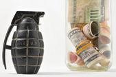 Money for War Concept — Stock Photo