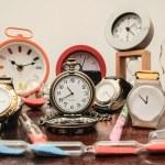 Many different Clocks — Stock Photo #43466017