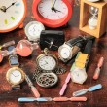 Many different Clocks — Stock Photo #43534903