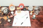 Exams Time Concept — Stock Photo