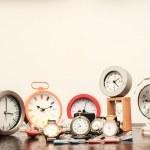 Many different Clocks — Stock Photo #43584327