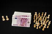 Poder del dinero — Foto de Stock