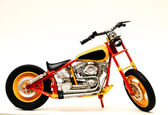 Motorcycle Model — Stock Photo