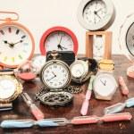 Many different Clocks — Stock Photo #43795517