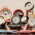Many different Clocks — Stock Photo #43896213