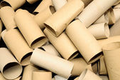 Empty Toilet Paper Roll — Stockfoto