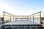 Sunrise Pier — Stock Photo