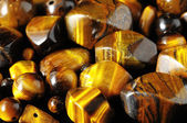 Tiger Eye Stones — Stock Photo