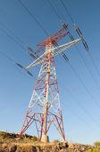 Pylon energii elektrycznej — Zdjęcie stockowe