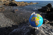 Vintage Globes Planet Earth — Stockfoto