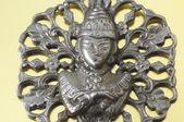 Silver Buddha Pendant Jewel — Stock Photo