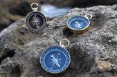 Analogové kompas — Stock fotografie