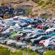 Old Junk Cars On Junkyard — Stock Photo #44786195