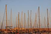 Sailing Boat Mast — Stock Photo