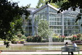 Greenhouse in the Botanical Garden — Stock Photo