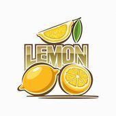 柠檬的形象 — 图库矢量图片