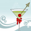 Vector de stock : Celebration Martini