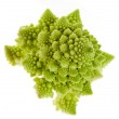 Cabbage romanesco broccoli on a white background — Stock Photo #13815116
