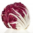 Red Cabbage Radicchio Rosso isolated on white — Stock Photo