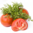 Royalty-Free Stock Photo: Tomatoes with dill