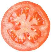 Photo big size of tomato isolated over white background — Stock Photo