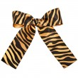 Royalty-Free Stock Photo: Striped ribbon bow